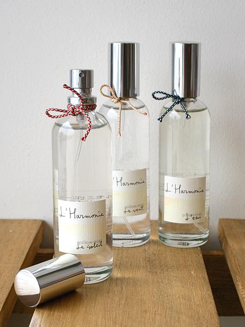 自然を感じるおだやかで清々しい3つの香り 【ロタンティック L'Harmonie - アルモニ - ピローミスト】::1759【バッグ・小物・ブランド雑貨】記念日向けギフトの通販サイト「バースデープレス」