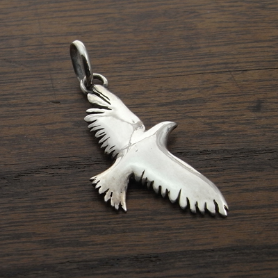 大空を飛ぶ鳥のように『ペンダントヘッド 銀(925)』Free:PH-45::1807【バッグ・小物・ブランド雑貨】記念日向けギフトの通販サイト「バースデープレス」