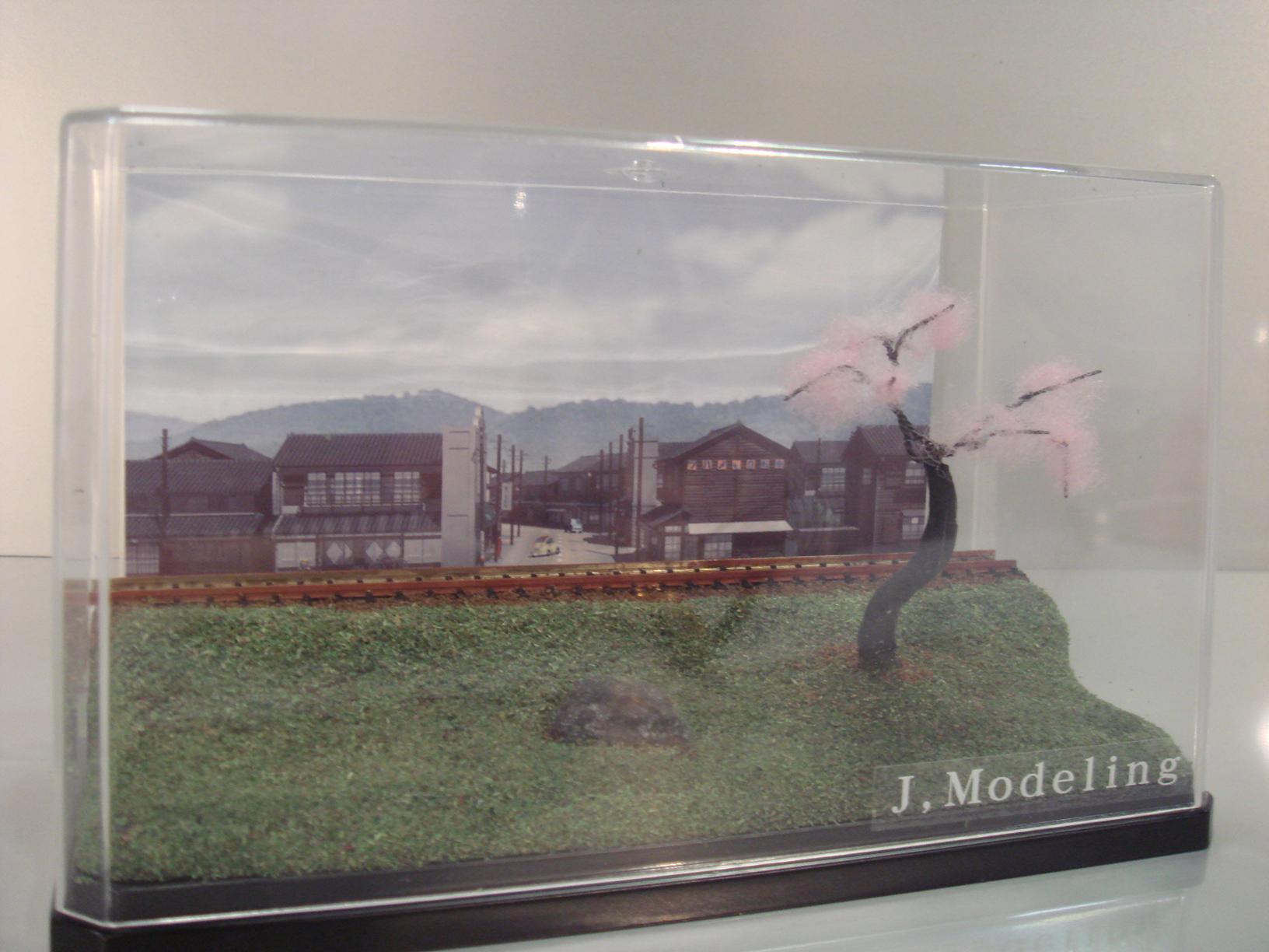 駅前の風景 【春】::1872【バッグ・小物・ブランド雑貨】記念日向けギフトの通販サイト「バースデープレス」