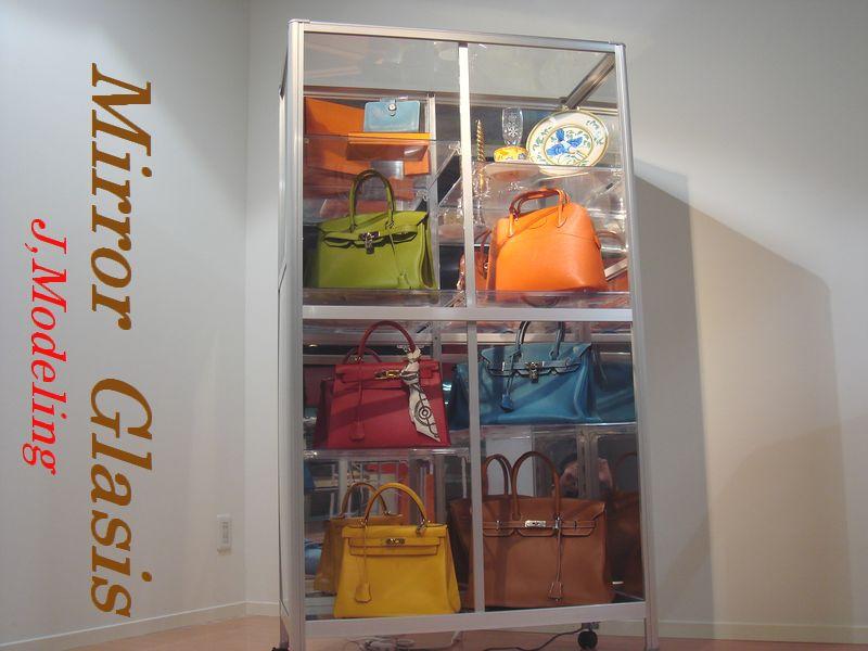 ブランドコレクションケース(MIRROR GLASIS) ガラス+背面ミラータイプ::1872【バッグ・小物・ブランド雑貨】記念日向けギフトの通販サイト「バースデープレス」