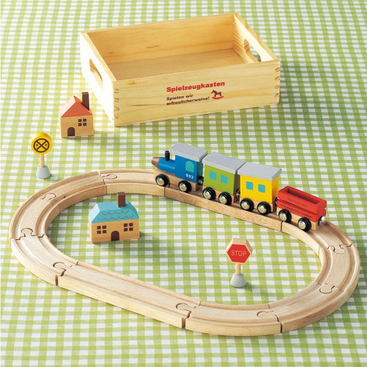 雑貨(キンダーシュピール トレイン)(Kinder Spiel/木製玩具/木のおもちゃ)::1955【バッグ・小物・ブランド雑貨】記念日向けギフトの通販サイト「バースデープレス」