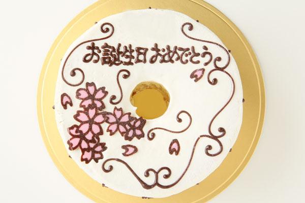 お手紙ケーキ 愛、感謝、お礼、思いをのせて 直径17cmの画像2枚目