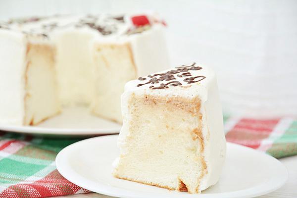 【クリスマスケーキ2016】お手紙ケーキ クリスマスケーキバージョン 直径21cm(4名から7名様用)【Xmas クリスマス シフォン】の画像5枚目