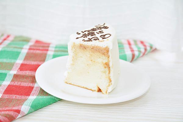 【クリスマスケーキ2016】お手紙ケーキ クリスマスケーキバージョン 直径21cm(4名から7名様用)【Xmas クリスマス シフォン】の画像4枚目
