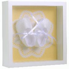 幸せの靴音Petit(エンジェル-イエロー)【キッズ・ベビー・マタニティ > 出産祝い・内祝い・ギフト > ギフトセット > 出産祝い】記念日向けギフトの通販サイト「バースデープレス」