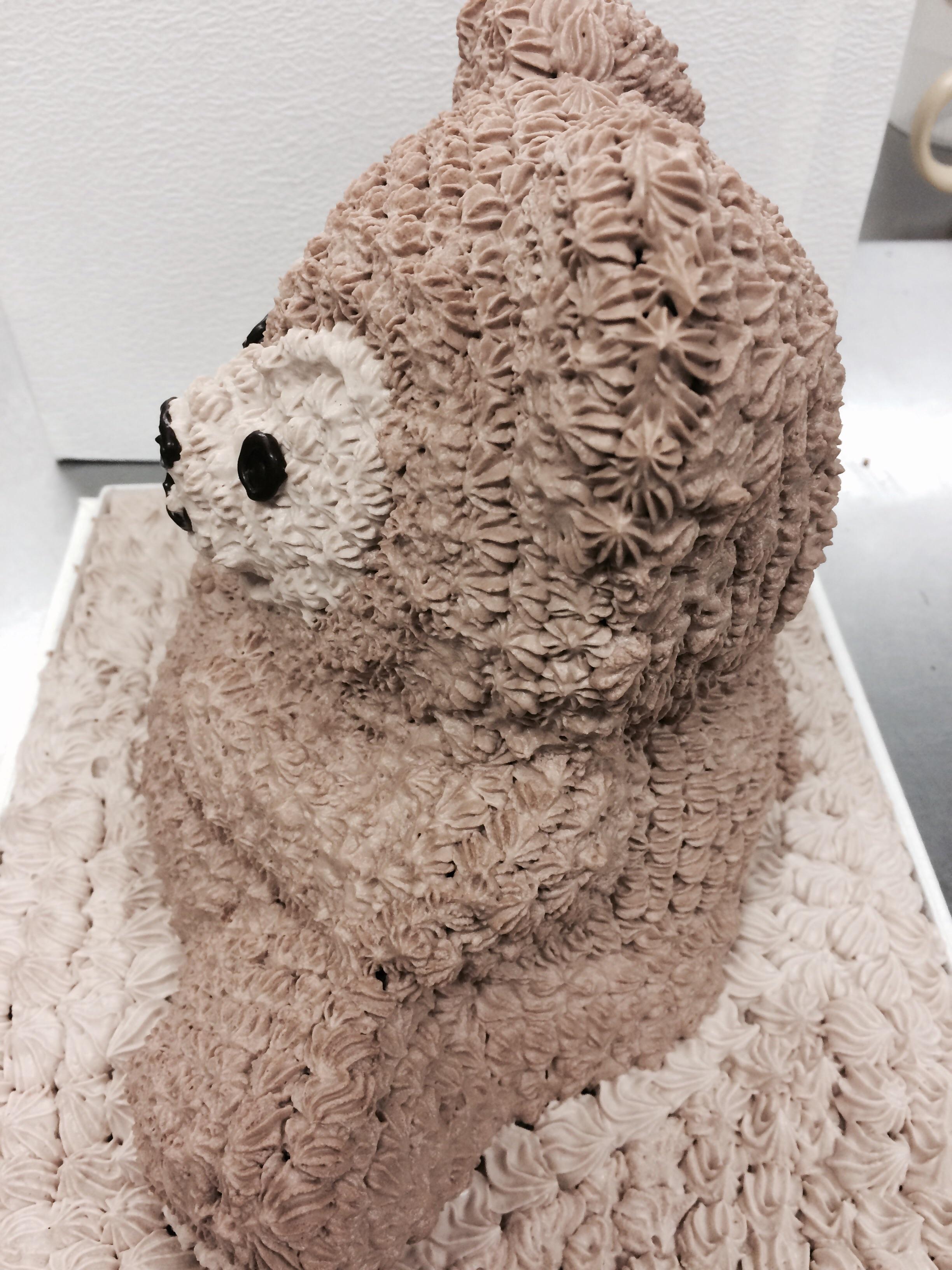 クマちゃんの立体ケーキ  高さ 約22cm(約8〜10人分)の画像3枚目