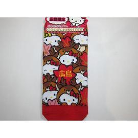 キティ靴下 「鹿コロコロ 赤」::2230【バッグ・小物・ブランド雑貨】記念日向けギフトの通販サイト「バースデープレス」