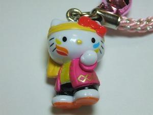 キティ根付け 「うらじゃ祭り ピンク」::2230【バッグ・小物・ブランド雑貨】記念日向けギフトの通販サイト「バースデープレス」