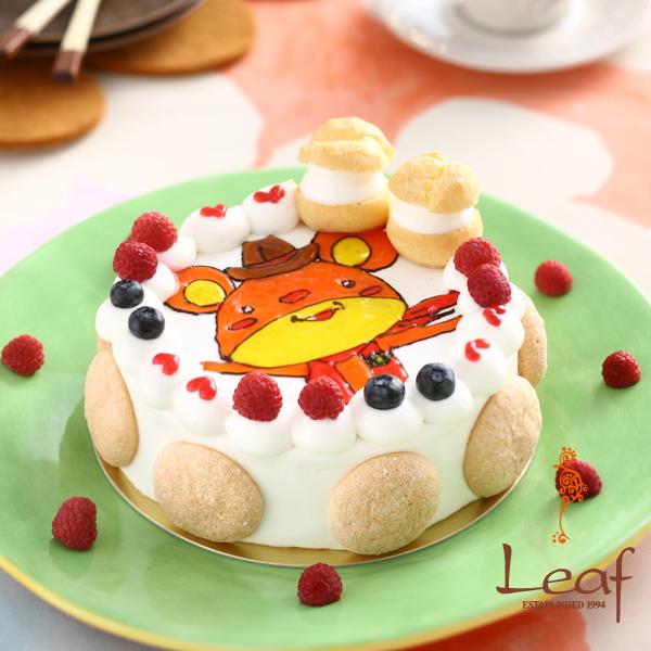 キャラクターケーキ(生クリーム)15cm(3?4人用)【スイーツ > 洋菓子】記念日向けギフトの通販サイト「バースデープレス」