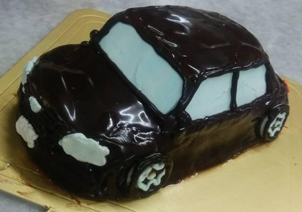乗り物デコレーションケーキ 4号 12cmの画像3枚目