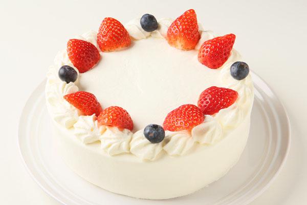卵・乳製品・小麦粉除去 アレルギー対応カラーフォトケーキ 4号 12cmの画像2枚目