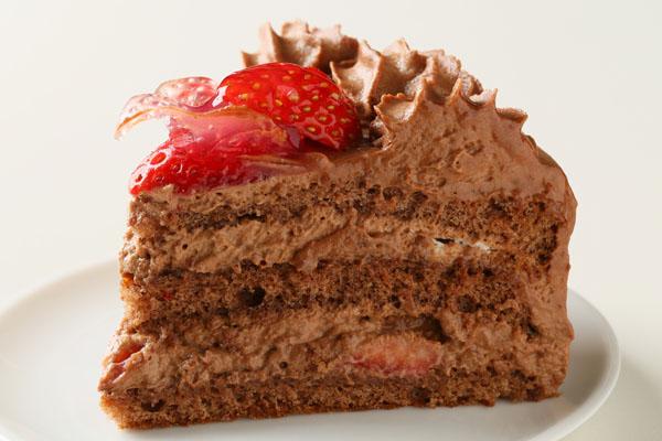 【送料無料】!高級生チョコデコレーションケーキ6号の画像4枚目