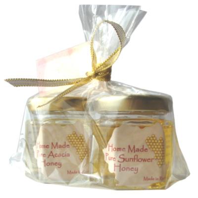 アピコラ Honey IIKOTO Set Blood Type O Refresh & Motivation(Acacia 45g + Sunflower 45g)【食品】記念日向けギフトの通販サイト「バースデープレス」