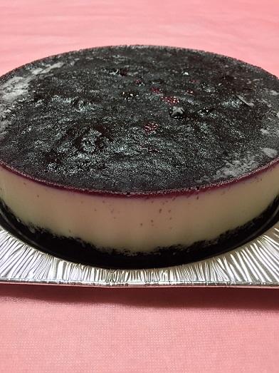 アイスケーキ(ブルーベリー&チーズ)4号(12cm)【バースデーケーキ 誕生日ケーキ デコ バースデー アイスケーキ ムースケーキ チーズ】