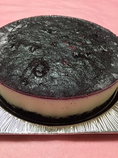 アイスケーキ(ブルーベリー&チーズ)6号(18cm)【バースデーケーキ 誕生日ケーキ デコ バースデー アイスケーキ ムースケーキ チーズ】の画像2枚目