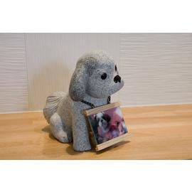 ペットフォトスタンド<犬> 【インテリア・寝具・収納 > インテリア小物・置物】記念日向けギフトの通販サイト「バースデープレス」