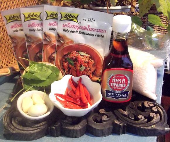 カオグラパオ(挽肉のバジル炒めご飯)キット(16食分) 【食品】記念日向けギフトの通販サイト「バースデープレス」