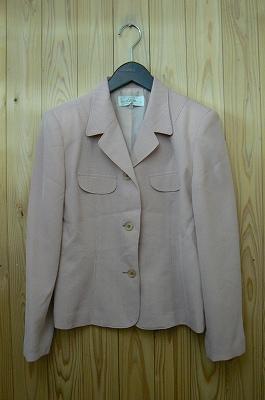 お買い得商品わけありLuva長袖ジャケットピンクストライプ5ARサイズ中古::2540【バッグ・小物・ブランド雑貨】記念日向けギフトの通販サイト「バースデープレス」