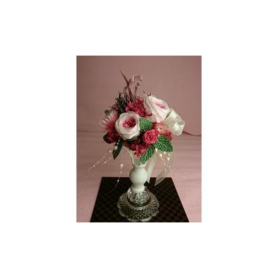 ヨーロピアンプリザ(ミルフィーユ)2【花・ガーデン・DIY > フラワー】記念日向けギフトの通販サイト「バースデープレス」