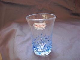 つぶつぶビアグラス 青/水色::2595【食品】記念日向けギフトの通販サイト「バースデープレス」