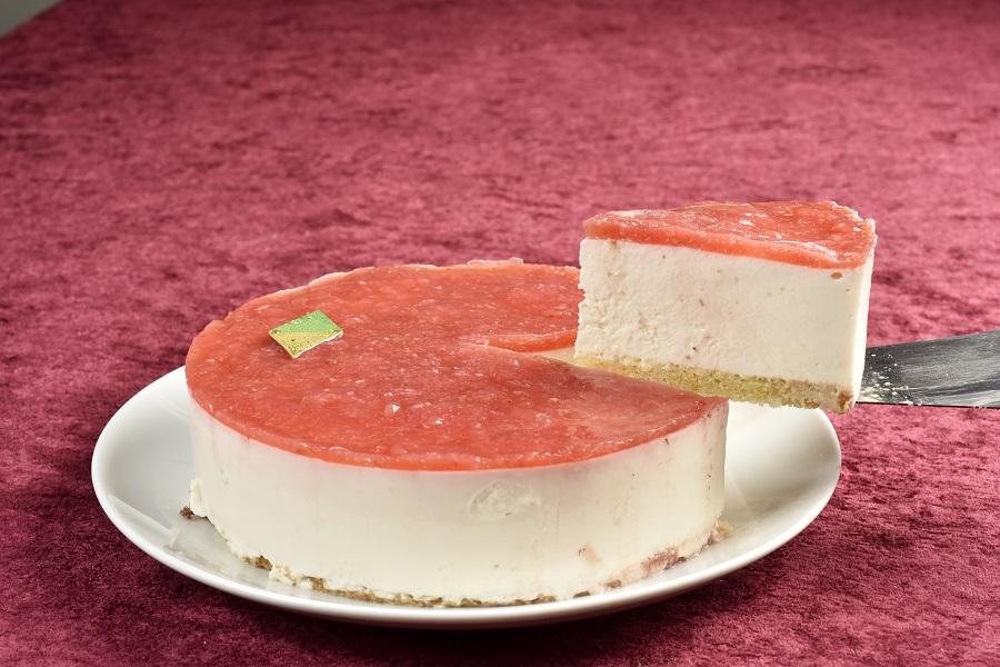 卵・乳製品・小麦粉除去 いちごの豆乳レアチーズケーキ5号(アレルギー対応)デコレーションセット付きの画像4枚目