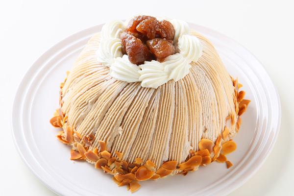 デラックスモンブラン 5号(直径15cm)【バースデー 誕生日 ケーキ スイーツ お取り寄せ】の画像1枚目