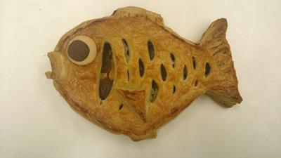鯛の形をしためでたいアップルパイ 小