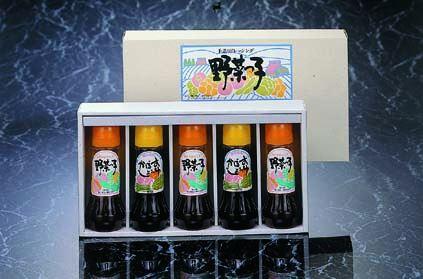 和風ドレッシング(300ml)5本セット::2665【食品】記念日向けギフトの通販サイト「バースデープレス」