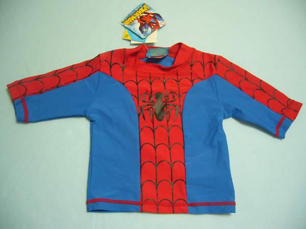 スパイダーマン水着 上着 UVカット(90・100・140cm)::2678【バッグ・小物・ブランド雑貨】記念日向けギフトの通販サイト「バースデープレス」