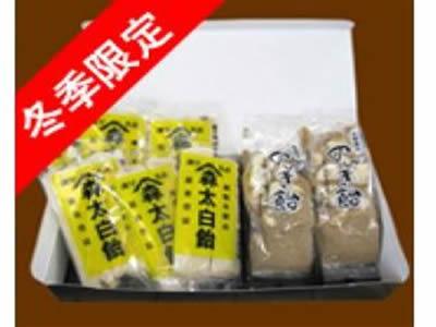太白飴6袋入り+のんき2袋入り::2682【スイーツ > 和菓子】記念日向けギフトの通販サイト「バースデープレス」