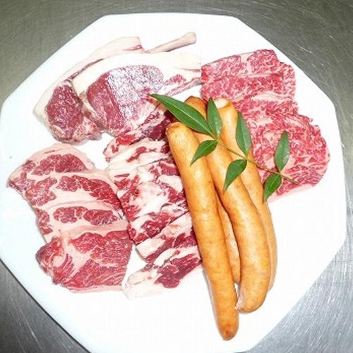 和牛&イベリコ豚&ラム肉ミックス 焼肉Bセット::2702【食品】記念日向けギフトの通販サイト「バースデープレス」