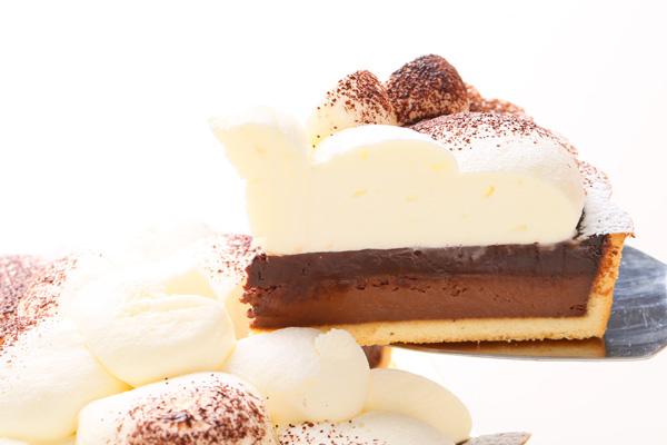 生チョコタルト フォトケーキ 5号 15cmの画像3枚目