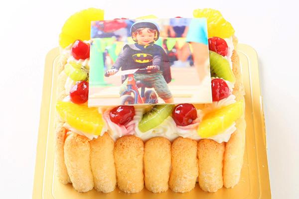 生デコ フォトケーキ 5号 15cmの画像2枚目