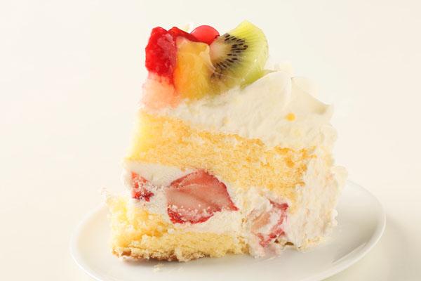 生クリームフルーツ飾りデコレーション6号【誕生日 バースデーケーキ】の画像4枚目
