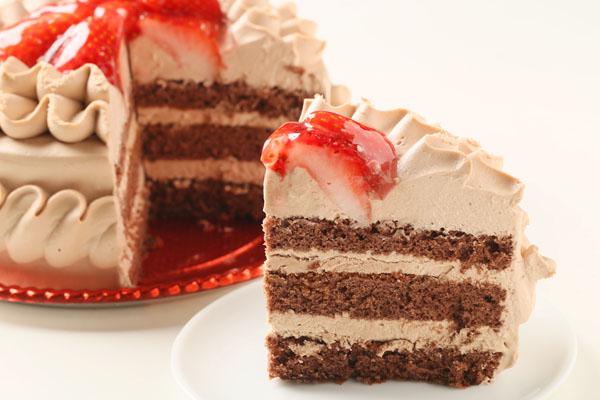 チョコ生クリームデコレーションケーキ6号の画像5枚目