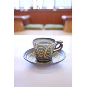 送料無料 沖縄陶器 コーヒーカップ&ソーサー 神谷::2774【バッグ・小物・ブランド雑貨】記念日向けギフトの通販サイト「バースデープレス」