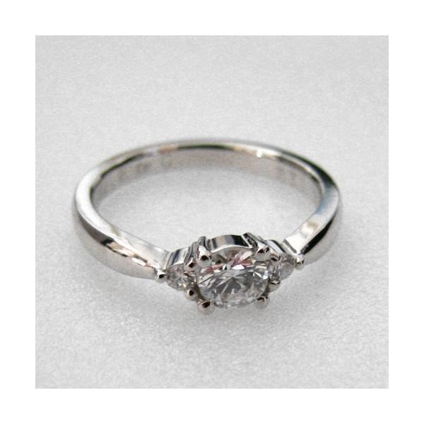 婚約指輪 エンゲージリング プラチナ ダイヤモンドリング 0.25ct DカラーAT-213::2799【バッグ・小物・ブランド雑貨】記念日向けギフトの通販サイト「バースデープレス」