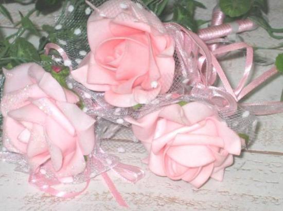 かわいいローズのボールペン♪ピンク