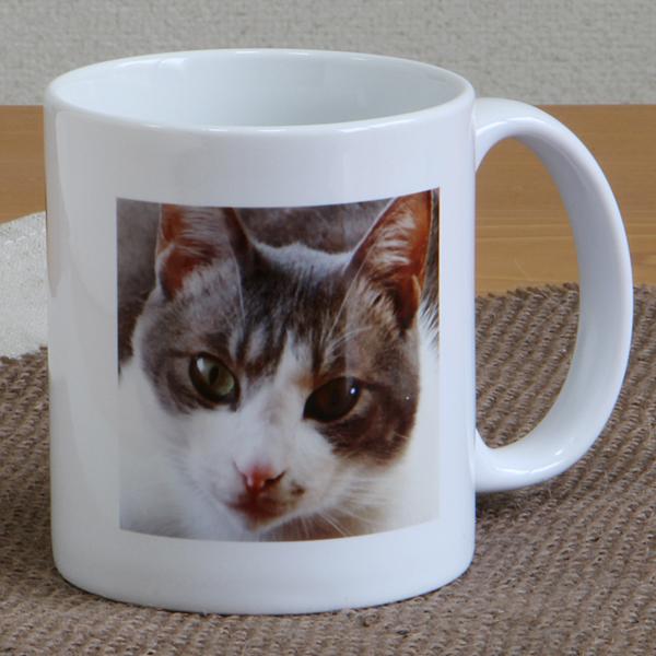 猫屋敷オリジナル プリントマグカップ 写真タイプ<完全オーダーメイド>::2913【バッグ・小物・ブランド雑貨】記念日向けギフトの通販サイト「バースデープレス」