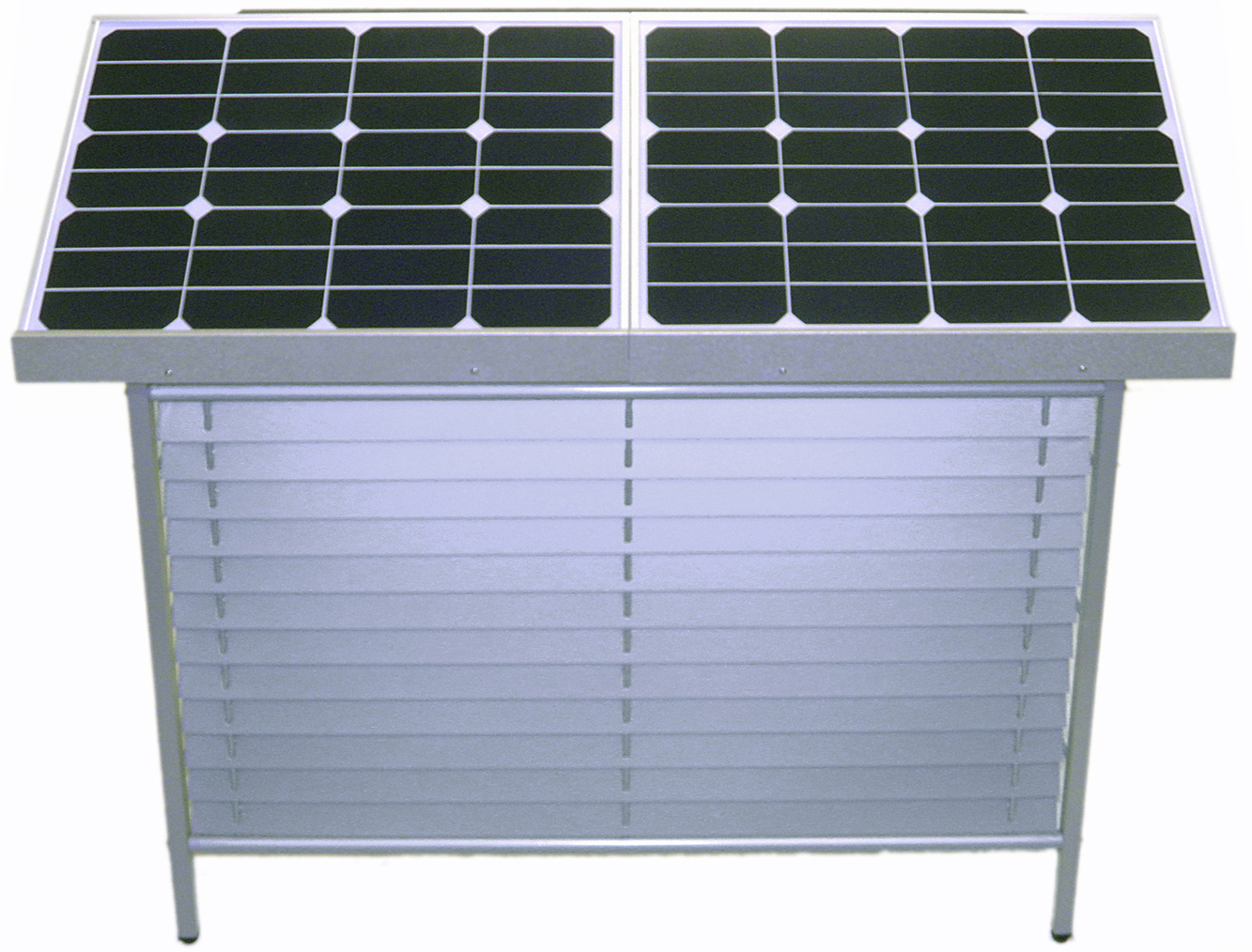 【停電対策】【室外機カバー型】【非常用電源】ソーラー蓄電システム WinSideSolar ES-S500::2982【バッグ・小物・ブランド雑貨】記念日向けギフトの通販サイト「バースデープレス」