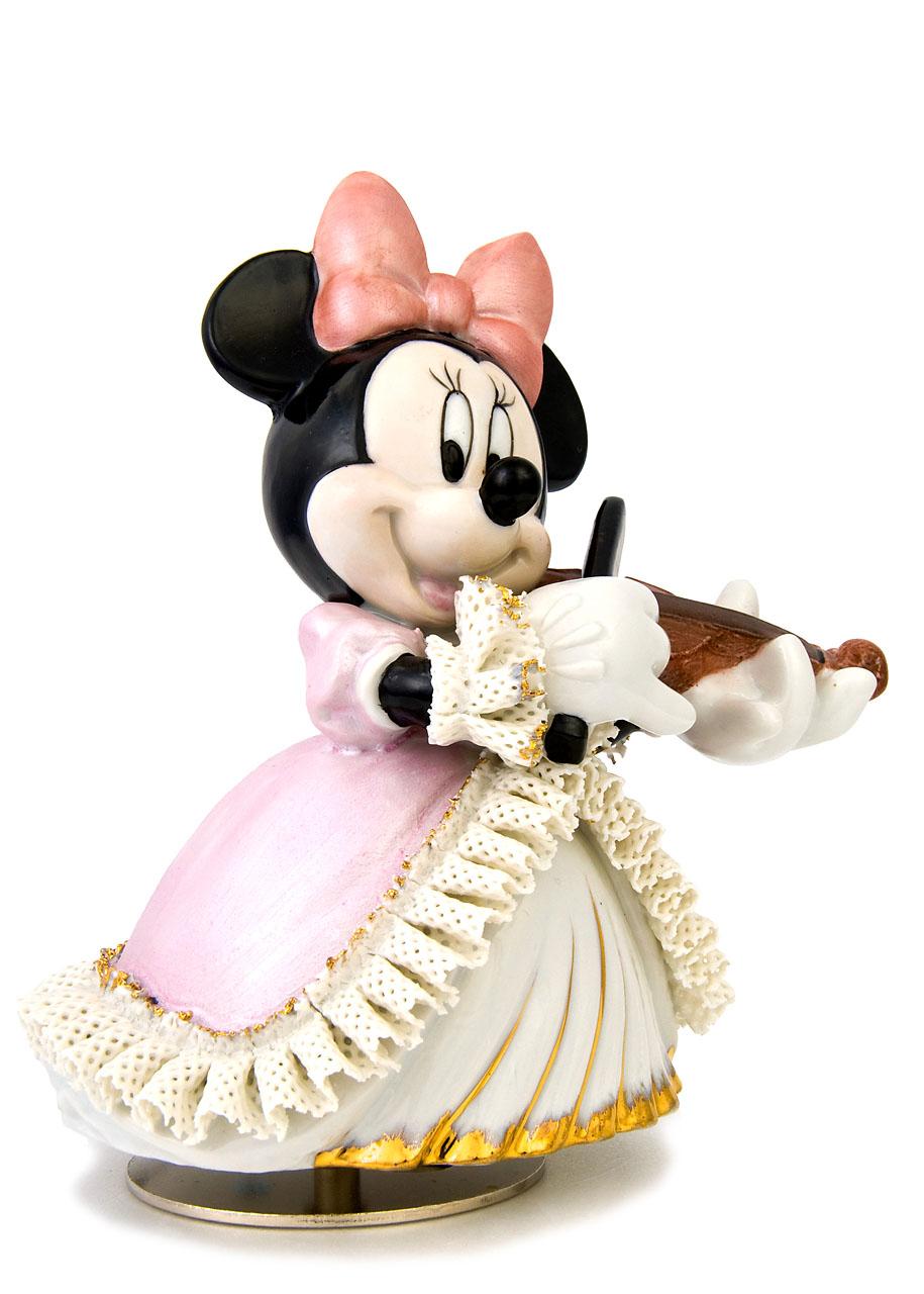 ミニー バイオリン弾き オルゴール カラー DY-2362C::3107【インテリア・寝具・収納 > インテリア小物・置物 > キャラクターグッズ > ディズニー】記念日向けギフトの通販サイト「バースデープレス」