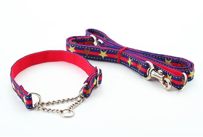 【小型犬用】ハーフチェーンセット(星柄・4色)::3123【バッグ・小物・ブランド雑貨】記念日向けギフトの通販サイト「バースデープレス」