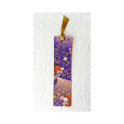 友禅和紙しおり 紫小槌::3198【バッグ・小物・ブランド雑貨】記念日向けギフトの通販サイト「バースデープレス」
