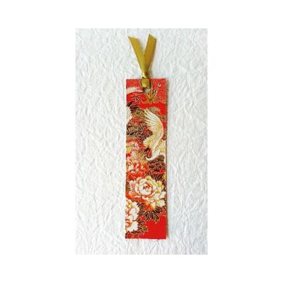 友禅和紙しおり 赤向鶴::3198【バッグ・小物・ブランド雑貨】記念日向けギフトの通販サイト「バースデープレス」
