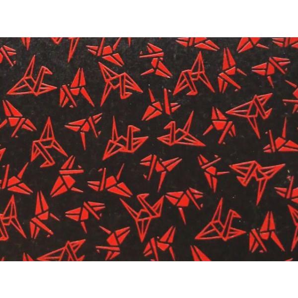 鎌倉彫風和紙 折り鶴::3198【バッグ・小物・ブランド雑貨】記念日向けギフトの通販サイト「バースデープレス」