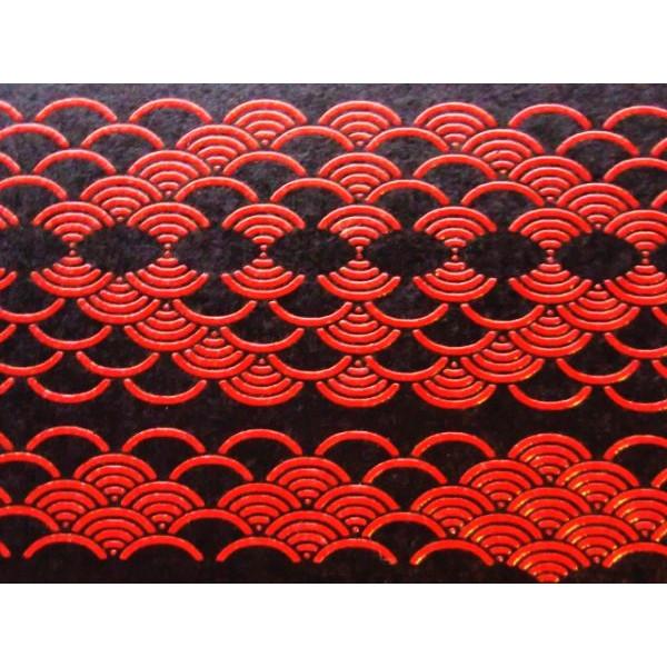 鎌倉彫風和紙 青海波::3198【バッグ・小物・ブランド雑貨】記念日向けギフトの通販サイト「バースデープレス」