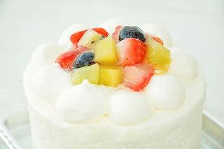 フルーツデコレーションケーキ3号【スイーツ 誕生日 バースデー】の画像3枚目