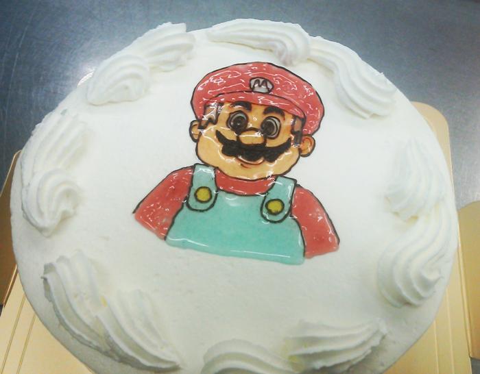 イラストケーキ4号の画像3枚目