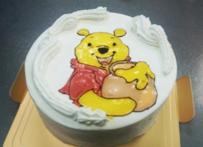 人気キャラクターイラストケーキ6号の画像4枚目