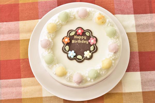 ジェラート お誕生日ケーキ スタンダード15cmの画像1枚目